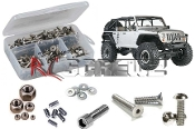 axi009 - Axial SCX10 Jeep Wrangler Rubicon Stainless Steel Screw