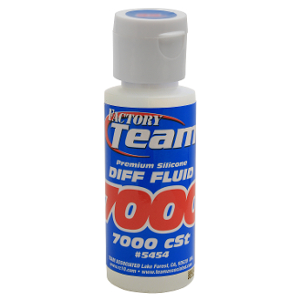 Factory Team Silicone Diff Fluid, 7000cSt