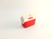 TSH Coolmate Opening Lunch Box Cooler 1/10 Scale - RED
