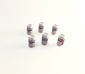 TSH Budweiser 6 Pack Cans Of Beer 1/12 - 1/10 Scale