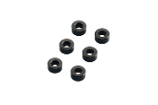 Axial 3x6mm Spacer - Grey (6pcs)