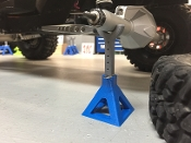 SBC 1/10 Scale Jack Stands (Blue)