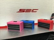 SBC 1/10 Scale Tool Box (Red)