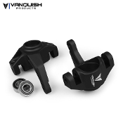 Vanquish AXIAL YETI / EXO STEERING KNUCKLES BLACK ANODIZED
