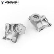 Vanquish AXIAL SCX10-II KNUCKLES CLEAR ANODIZED