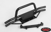 RC4WD RAMPAGE FRONT DOUBLE TUBE BUMPER WITH HOOP FOR TRAIL FINDE