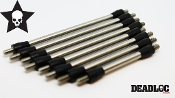 DEADLOC STAINLESS STEEL 8PC LINK KIT FOR AXIAL SCX10-II