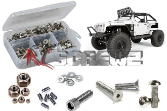 axi008 - Axial SCX10 Jeep Wrangler G6 Stainless Steel Screw