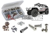 axi020 - Axial Wrangler C/R Edition Stainless Screw Kit