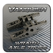 VANQUISH WRAITH AXLE TRUSS (FRONT AND REAR) BLACK