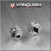 VANQUISH ALUMINUM 12MM CLAMPING WHEEL HEX (2) - GREY