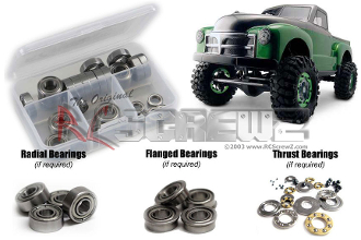 axi002r - Axial Racing SCX-10 Rubber Shielded Bearings