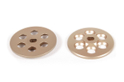 Axial Machined Slipper Plate (Hard Anodized) (2pcs)