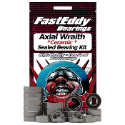Fast Eddy Axial Wraith Ceramic Sealed Bearing Set