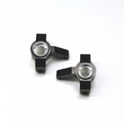 STRC MACHINED ALUMINUM FRONT STEERING KNUCKLES AXIAL SCX10 II
