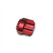 STRC CNC MACHINED ALUMINUM DIFF COVER FOR AXIAL SCX10 II (RED)
