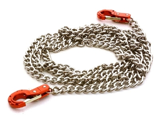 Integy 1/10 Scale Metal Drag Chain w/ Tow Hooks for Off-Road