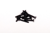 Axial M3x18mm Hex Socket Flat Head (Black) (10pcs)