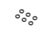 Axial 1x6mm Spacer - Grey (6pcs)