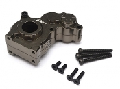 Boom Racing Aluminum Center Gearbox - 1 Pc Gun Metal