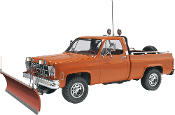Revell 1/24 GMC® Pickup w/ Snow Plow Plastic Model Kit