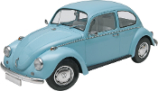 Revell 1/24 '68 Volkswagen Beetle Plastic Model Kit