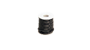 Racers-Edge 12 Gauge Silicone Ultra-Flex Wire; 25' Spool (Black)