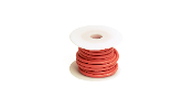 Racers-Edge 10 Gauge Silicone Ultra-Flex Wire; 25' (Red)