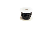 Racers-Edge 10 Gauge Silicone Ultra-Flex Wire; 25' Spool (Black)