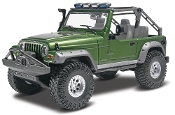 Revell 1/25 Jeep® Wrangler Rubicon Plastic Model Kit