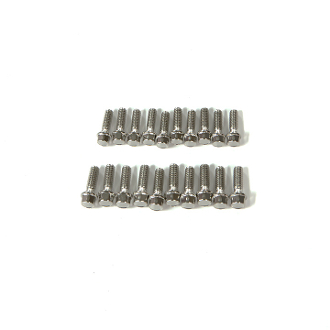 gMade M2.5X8mm Scale Hex Bolts (20)