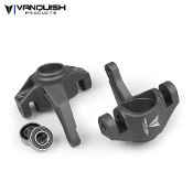 Vanquish AXIAL YETI / EXO STEERING KNUCKLES GREY ANODIZED