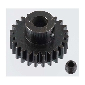 Robinson Racing EXTRA HARD 24 TOOTH BLACKENED STEEL 32P PINION