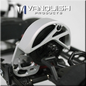 Vanquish SCX MOTOR MOUNT / GEAR GUARD CLEAR ANODIZED
