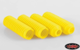 RC4WD SUPER SCALE SHOCK BOOT (YELLOW)