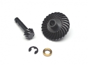 Boom Racing Bevel Helical Gear Set 27T/10T for Scale PHAT Axle