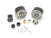 Boom Racing 1.55 Yota LC Classic Rear Beadlock Wheels (2) GM