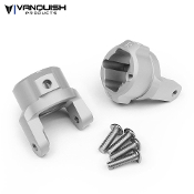 Vanquish AXIAL SCX10 8 DEGREE C-HUBS CLEAR ANODIZED