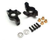 Boom Racing Aluminum HD Steering knuckle / Block (2) AR60 Black
