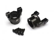 Boom Racing Wraith Aluminum C Hub carrier (2) Black