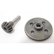 Hot Racing Spiral Cut Bevel Gear Set, 36/14 Tooth, for Axial