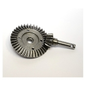 Hot-Racing Steel Helical Diff Ring/Pinion Gear Set for Axial