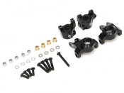 Boom Racing Aluminum AR44 Steering Knuckle & C-Hub Carrier Set