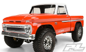 Pro-line Racing 1966 Chevrolet C-10 Clear Body (Cab + Bed)