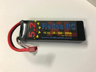 Helios RC 5200 3s 50c LiPo Battery Pack