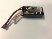 Helios RC 1500-3s-45c LiPo Battery Pack