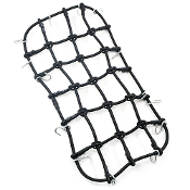 Yeah Racing 1/10 Scale Accessory Luggage Net 200mm x 110mm Black