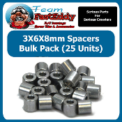 Fast Eddy 3X6X8 Spacers (25 Pack)