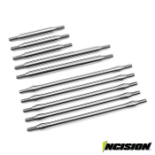 INCISION TRX-4 STAINLESS STEEL 10PC LINK KIT - STOCK WHEELBASE