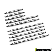 INCISION TRX-4 STAINLESS STEEL 10PC LINK KIT - 12.3IN WHEELBASE